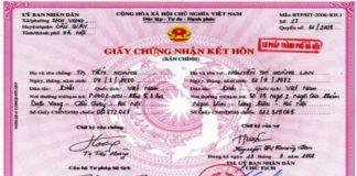 làm giấy đăng ký kết hôn giả